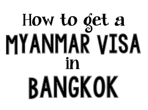 13. Myanmar Visa