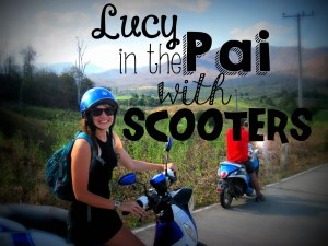 5. Lucy in the Pai with scooters