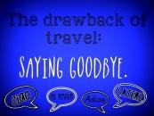 27. Saying Goodbye