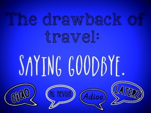 27. Saying Goodbye