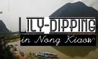 Lily Dipping in Nong Kiaow